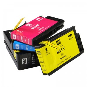 Premium compatible empty refill ink cartridge 950 951 for HP with chip