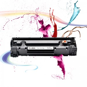 Premium laser printer cartrige cf283a 283 toner cartridge compatible for HP