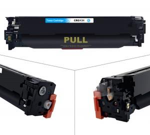de suministros de oficina 131 de color cartucho de tóner láser para Canon LBP7100CN / 7110CW