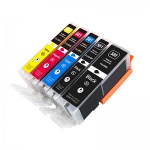New arrival pgi 580 cli581 ink cartridge compatible for Canon PIXMA TR8570 TS9170