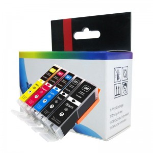 New arrival pgi 580 cli581 ink cartridge compatible for Canon PIXMA TR8570 TS9170