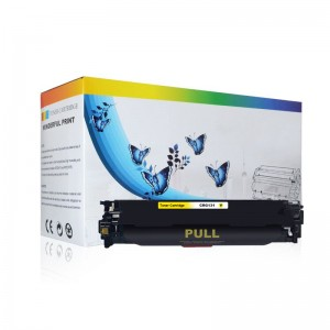 Office supply 131 color laser toner cartridge for Canon LBP7100CN/7110CW